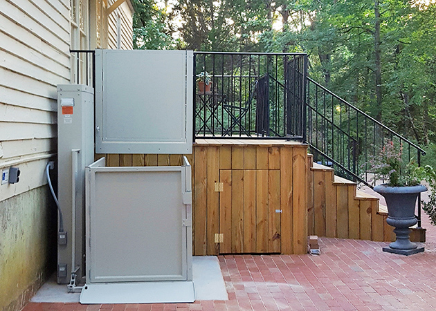 sosmobility wheelchair lift vertical platform porchlift