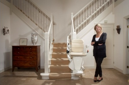 San Diego Authorized Handicare curved Chair Staircase Lift Sales and Service Center